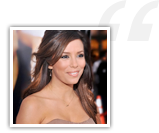 Eva Longoria testimonial for Get The Guy
