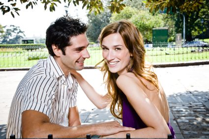 How To Attract Men - Woman Smiling With Guy
