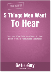 Things women want to hear from men